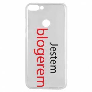 Phone case for Huawei P Smart I'm bloger - PrintSalon