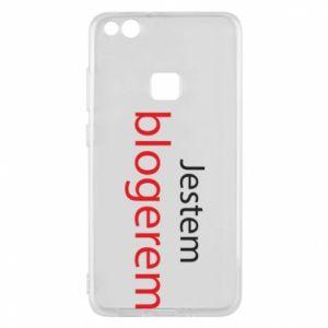 Phone case for Huawei P10 Lite I'm bloger - PrintSalon