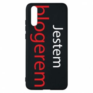 Phone case for Huawei P20 I'm bloger - PrintSalon