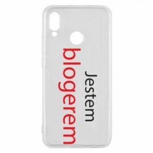 Phone case for Huawei P20 Lite I'm bloger - PrintSalon