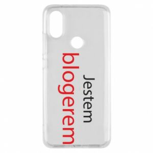 Phone case for Xiaomi Mi A2 I'm bloger - PrintSalon