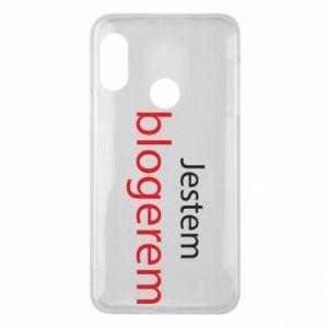 Phone case for Mi A2 Lite I'm bloger - PrintSalon