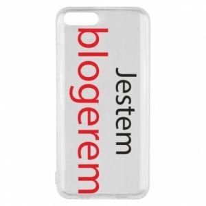 Phone case for Xiaomi Mi6 I'm bloger - PrintSalon