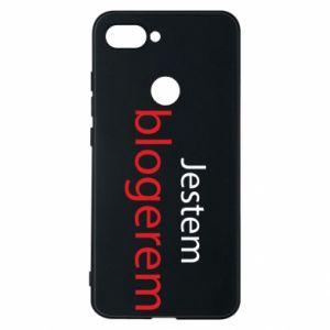 Phone case for Xiaomi Mi8 Lite I'm bloger - PrintSalon