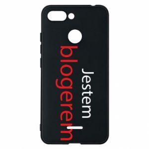 Phone case for Xiaomi Redmi 6 I'm bloger - PrintSalon