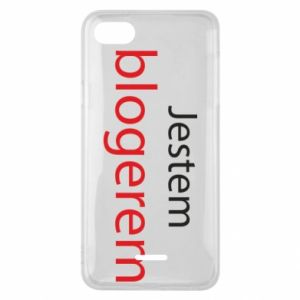 Phone case for Xiaomi Redmi 6A I'm bloger - PrintSalon