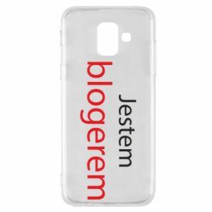Phone case for Samsung A6 2018 I'm bloger - PrintSalon