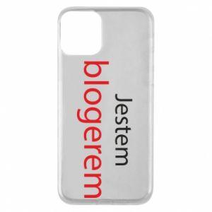 Phone case for iPhone 11 I'm bloger - PrintSalon