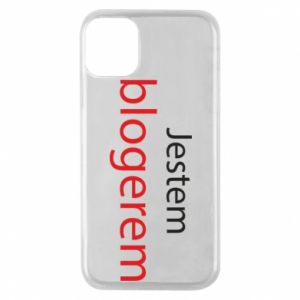 Phone case for iPhone 11 Pro I'm bloger - PrintSalon
