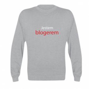 Bluza dziecięca Jestem blogerem