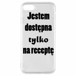 Phone case for iPhone 8 I'm available only on prescription - PrintSalon