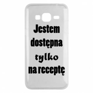 Phone case for Samsung J3 2016 I'm available only on prescription - PrintSalon