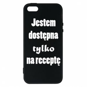 Phone case for iPhone 5/5S/SE I'm available only on prescription - PrintSalon