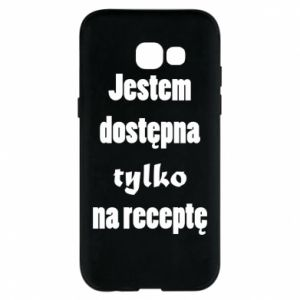 Phone case for Samsung A5 2017 I'm available only on prescription - PrintSalon