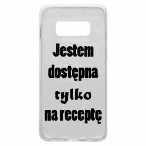 Phone case for Samsung S10e I'm available only on prescription - PrintSalon