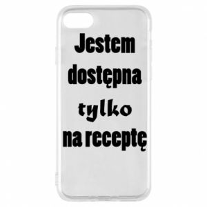 Phone case for iPhone 7 I'm available only on prescription - PrintSalon
