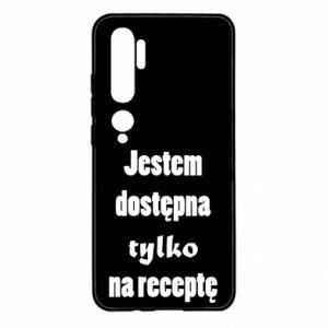 Etui na Xiaomi Mi Note 10 Jestem dostępna tylko na receptę