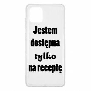 Etui na Samsung Note 10 Lite Jestem dostępna tylko na receptę