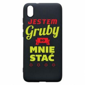 Phone case for Xiaomi Redmi 7A I'm fat because I can afford it