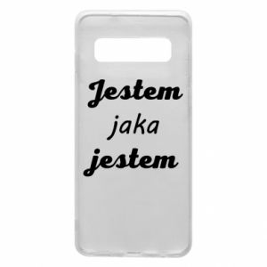 Phone case for Samsung S10 I am what I am
