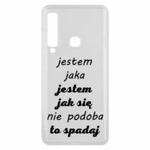 Phone case for Samsung A9 2018 I am what - PrintSalon