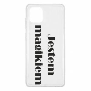 Etui na Samsung Note 10 Lite Jestem  magikiem