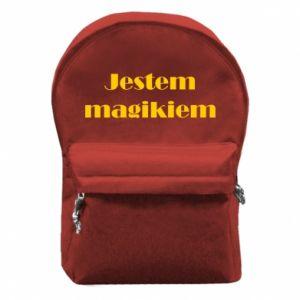 Plecak z przednią kieszenią Jestem  magikiem