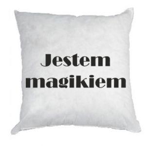 Poduszka Jestem  magikiem
