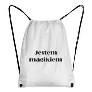 Plecak-worek Jestem  magikiem
