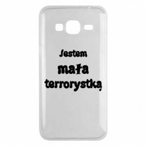 Etui na Samsung J3 2016 Jestem mała terrorystka
