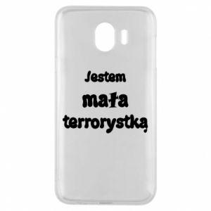 Etui na Samsung J4 Jestem mała terrorystka