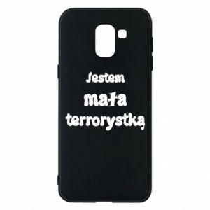 Etui na Samsung J6 Jestem mała terrorystka