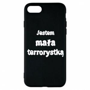 Etui na iPhone 8 Jestem mała terrorystka