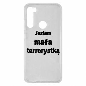 Xiaomi Redmi Note 8 Case I'm a little terrorist