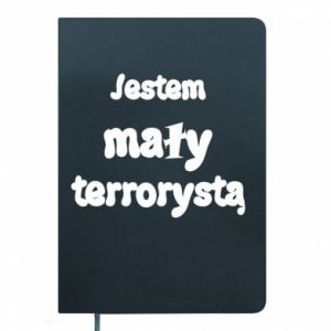 Notepad I'm a small terrorist
