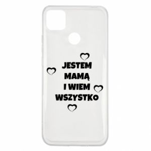 Xiaomi Redmi 9c Case I'm a mother and I know everything