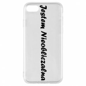 Phone case for iPhone 7 I'm Unpredictable - PrintSalon