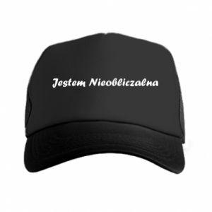 Trucker hat I'm Unpredictable - PrintSalon