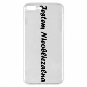 Phone case for iPhone 7 Plus I'm Unpredictable - PrintSalon