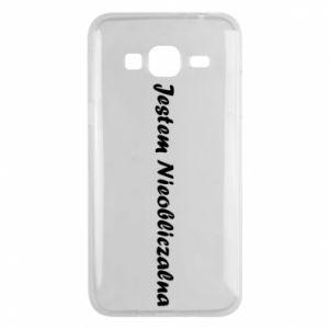 Phone case for Samsung J3 2016 I'm Unpredictable - PrintSalon
