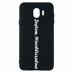Phone case for Samsung J4 I'm Unpredictable - PrintSalon