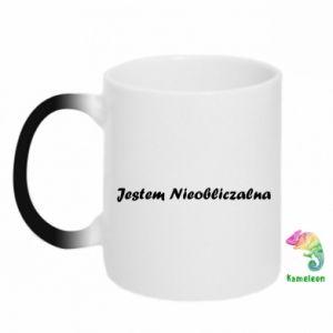 Chameleon mugs I'm Unpredictable - PrintSalon