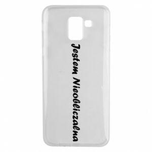 Phone case for Samsung J6 I'm Unpredictable - PrintSalon