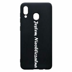 Phone case for Samsung A30 I'm Unpredictable - PrintSalon