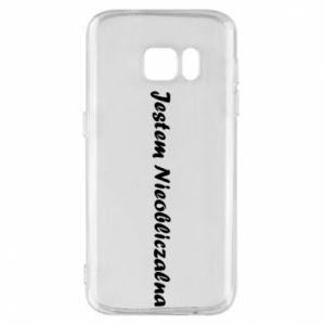 Phone case for Samsung S7 I'm Unpredictable - PrintSalon
