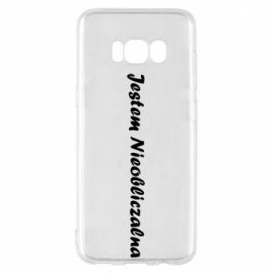 Phone case for Samsung S8 I'm Unpredictable - PrintSalon