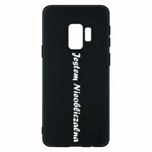 Phone case for Samsung S9 I'm Unpredictable - PrintSalon