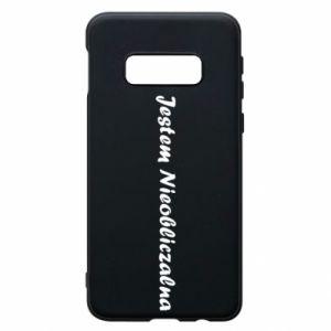 Phone case for Samsung S10e I'm Unpredictable - PrintSalon