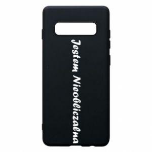 Phone case for Samsung S10+ I'm Unpredictable - PrintSalon