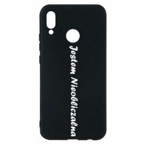 Phone case for Huawei P20 Lite I'm Unpredictable - PrintSalon
